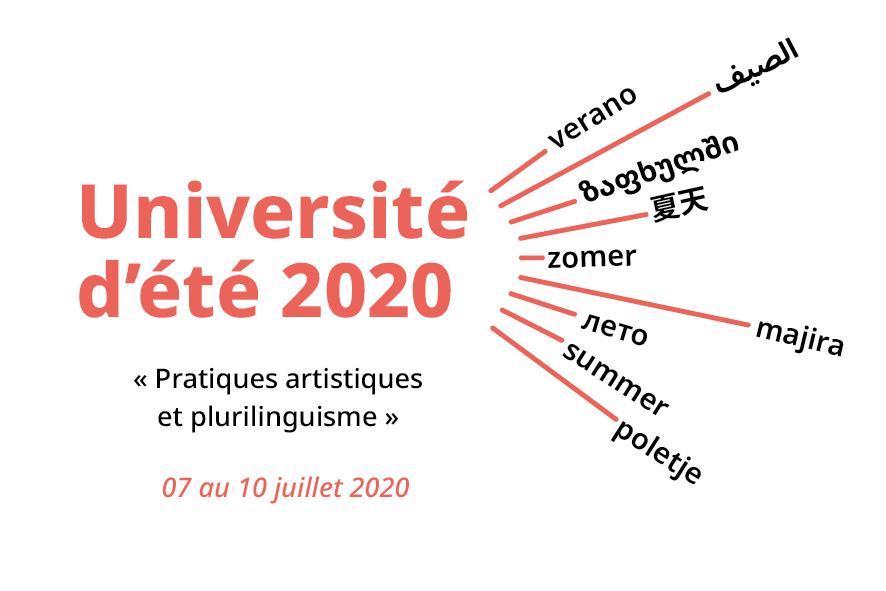 Université d'été 2020