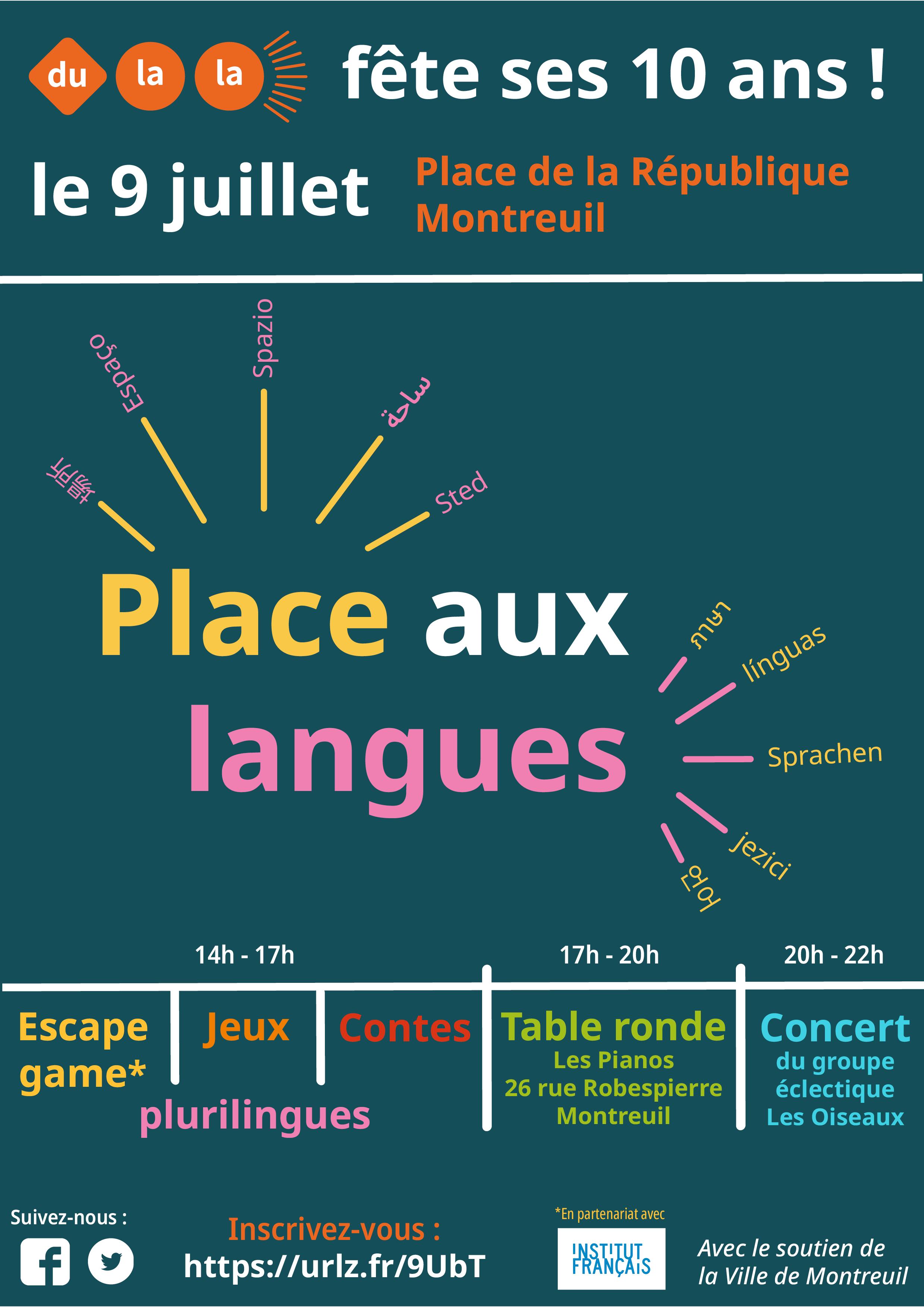 Place aux langues